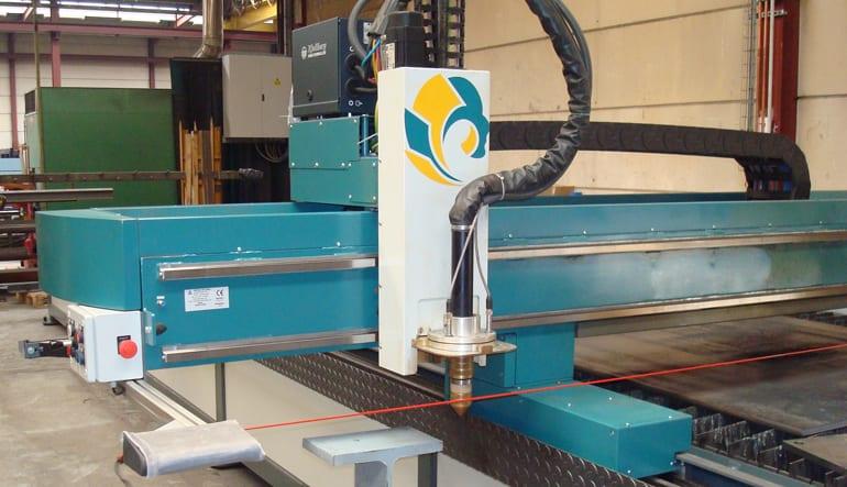 Verlengd portaal Astratec - Plasmasnijmachines en Lasautomatisatie